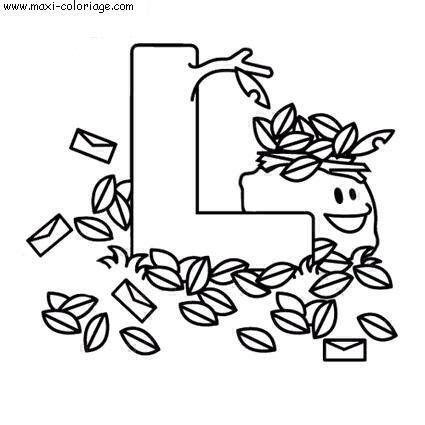 coloriage Alphabet Jouets