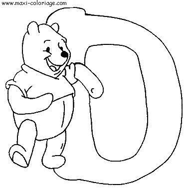Gratuit alphabet winnie l ourson dessin - Comment dessiner winnie l ourson ...