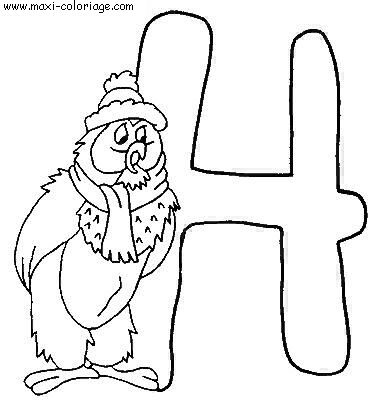 coloriage Alphabet Winnie L Ourson
