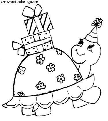 Coloriage tortues dessin tortues tortues coloriage n 4707 - Maxi coloriage ...