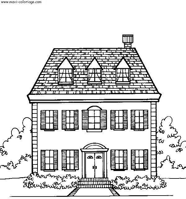maison a dessiner
