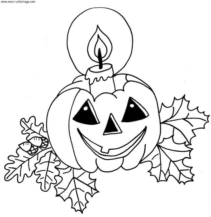 Ci dessous un coloriage Halloween , dessin Halloween . Téléchargez ...