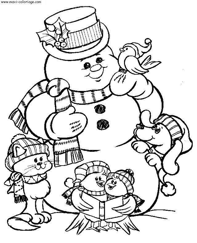 Noel dessins - Maxi coloriage ...