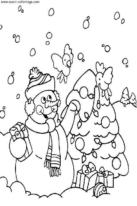 Coloriage noel dessin noel noel coloriage n 6157 - Maxi coloriage ...