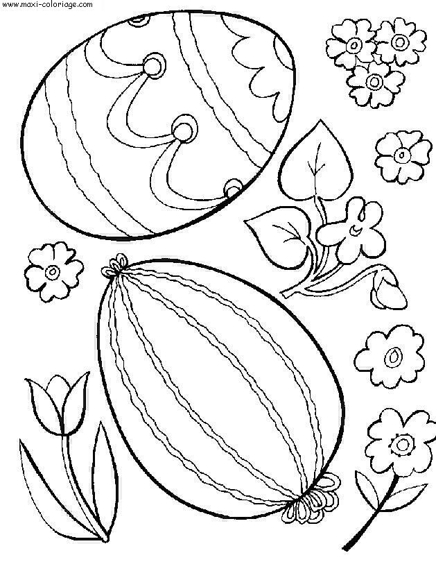 coloriage paques, dessin paques, paques Coloriage N°6392