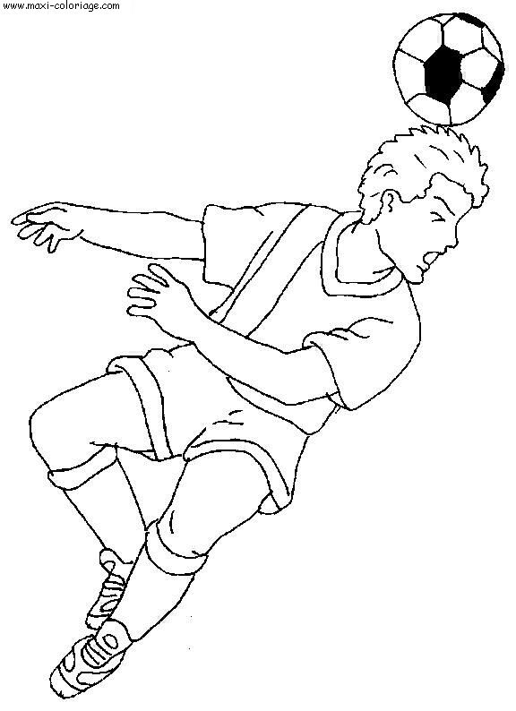 Comment dessiner un terrain de foot - Maxi coloriage ...