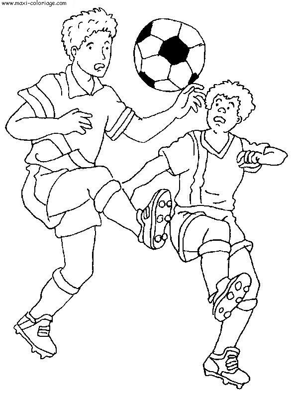 Coloriage Sport Foot.Coloriage Foot