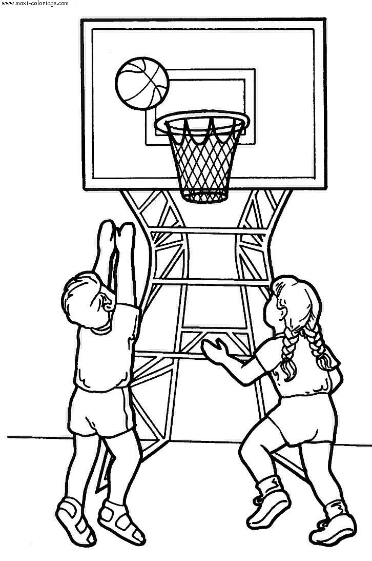 Coloriage sports dessin sports sports coloriage n 5671 - Maxi coloriage ...