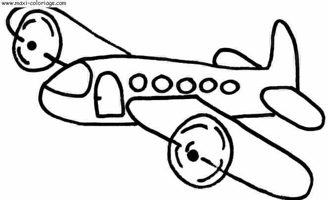 coloriage Avions