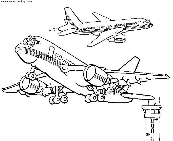 Coloriage Avions Dessin Avions Avions Coloriage N 5185