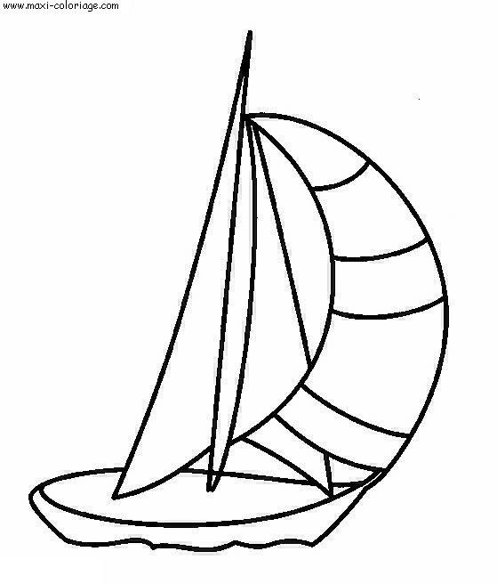 Coloriage bateaux dessin bateaux bateaux coloriage n 5203 - Maxi coloriage ...