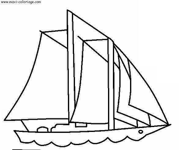 coloriage bateaux  dessin bateaux  bateaux coloriage n u00b05210