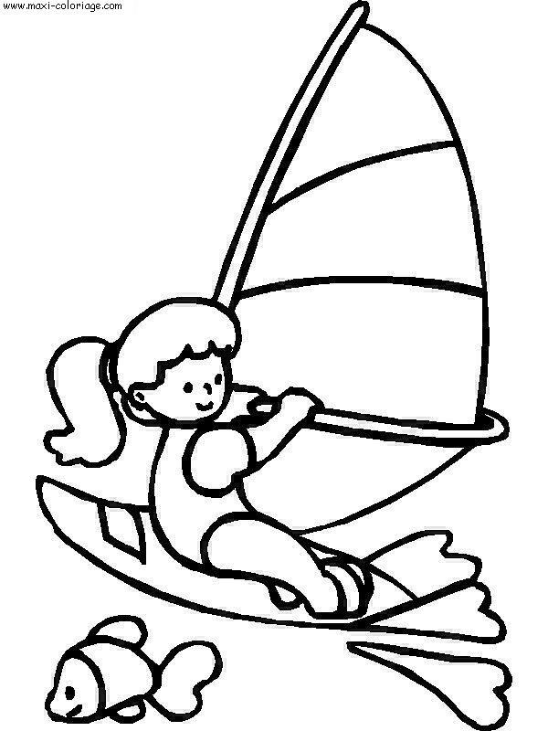 Coloriage vacances dessin vacances vacances coloriage n 5710 - Maxi coloriage ...