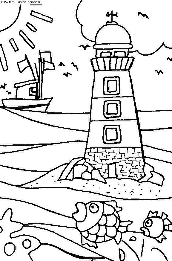 Coloriage gratuit vacances dessin gratuit vacances - Maxi coloriage ...